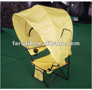 Folding Canopy Chair Office Star Professional Air Grid Managers Beach In Fishing Chairs From Sports