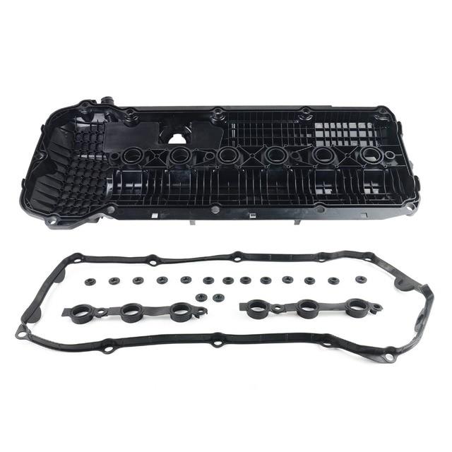 AP03 New 11121432928, 11121748630, 11 12 1 432 928, 11 12 1 748 630 For BMW ENGINE M54/M52 Cylinder Head Valve Cover + Gasket 3