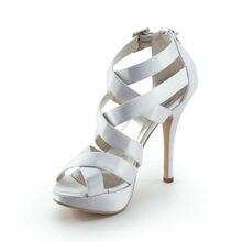 Sapatos high hochzeit absatzschuhe gladiator bridals sandalen OL punk schnitten plattform schuhe abendgesellschaft stilettos RR-081 YY