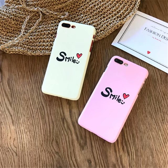 Fashion Cute Slime Words Small Love Series Hard Pc Phone Cases For Iphone  Case For