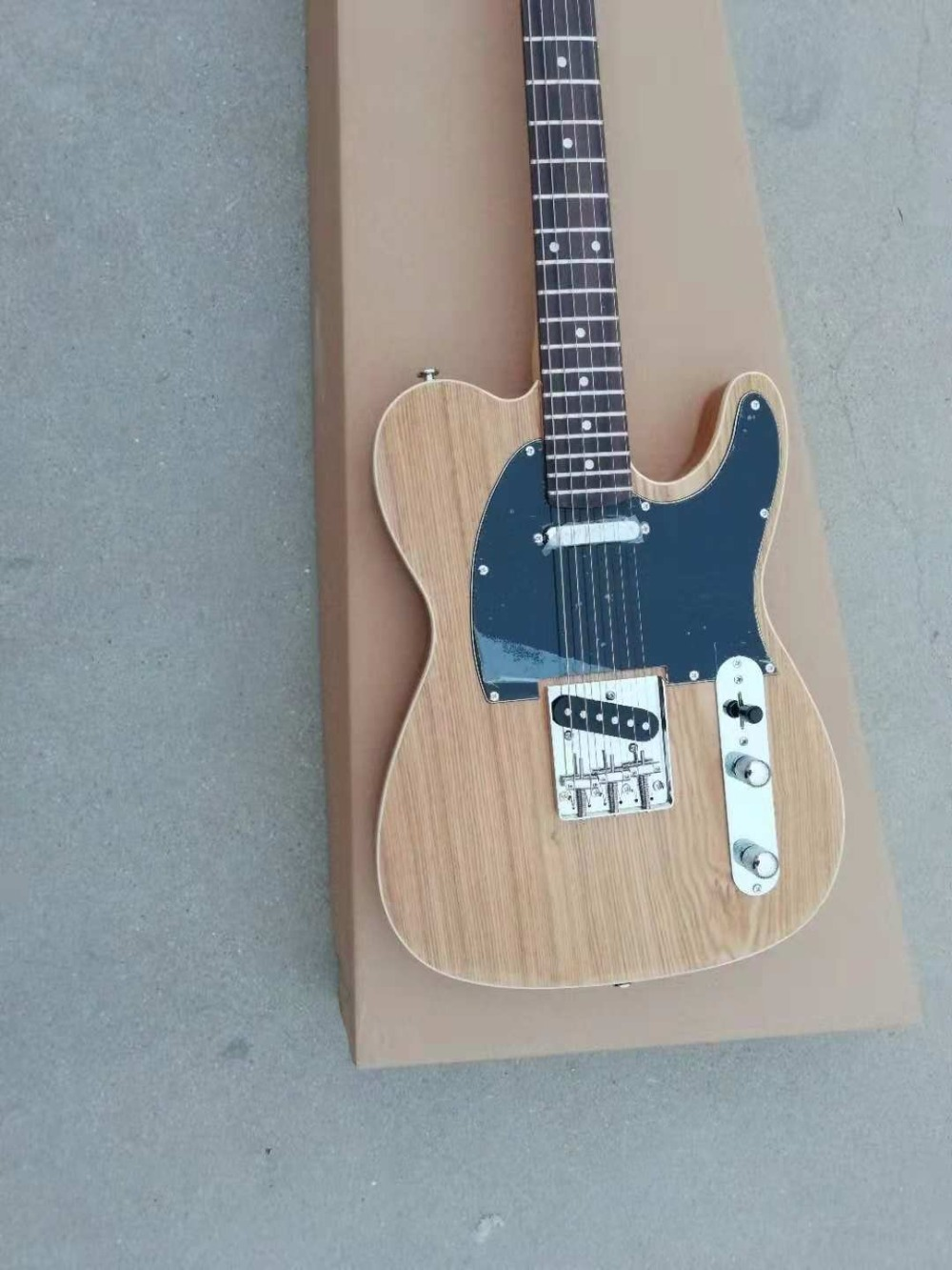 buy normal ash wood nature tl electric guitar from reliable guitar suppliers on. Black Bedroom Furniture Sets. Home Design Ideas