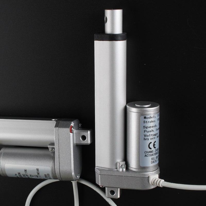 50mm stroke DC electric putter DC12V / 24V lift telescopic rod / window opener цены онлайн
