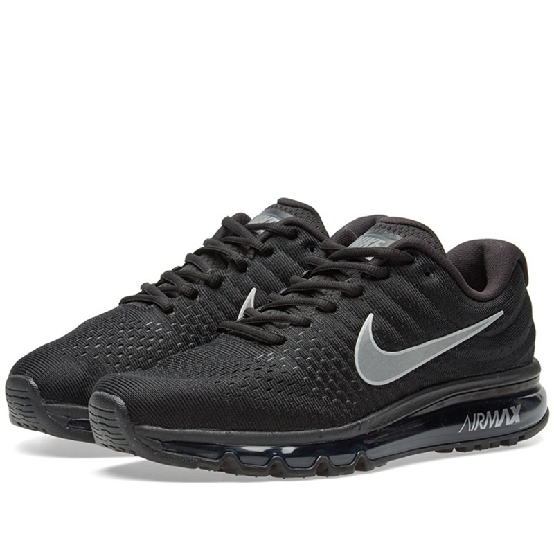 1c08f882aac New Arrival Official Nike Air Max 2017 Breathable Men s Running Shoes  Sports Sneakers winter sneakers Air cushion shoes-in Running Shoes from  Sports ...