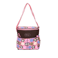 New waterproof back milk bag small portable Messenger multi-function fashion maternal and child package large capacity out d