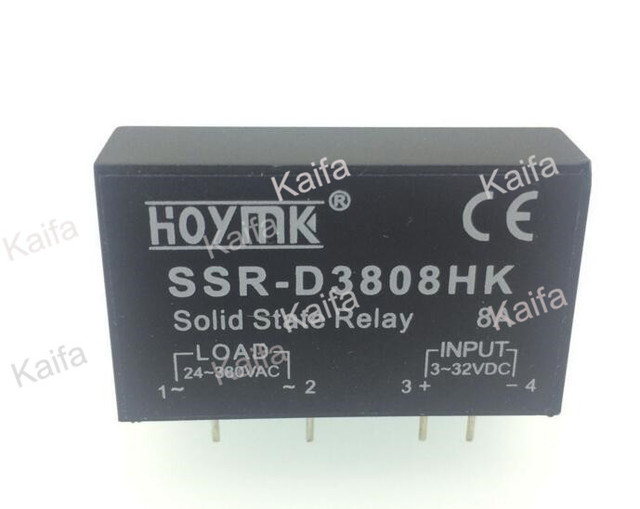 US $2 79 13% OFF PCB Dedicated with Pins SSR D3808HK 8A DC AC Solid State  Relay SSR D3808HK-in Relays from Home Improvement on Aliexpress com  