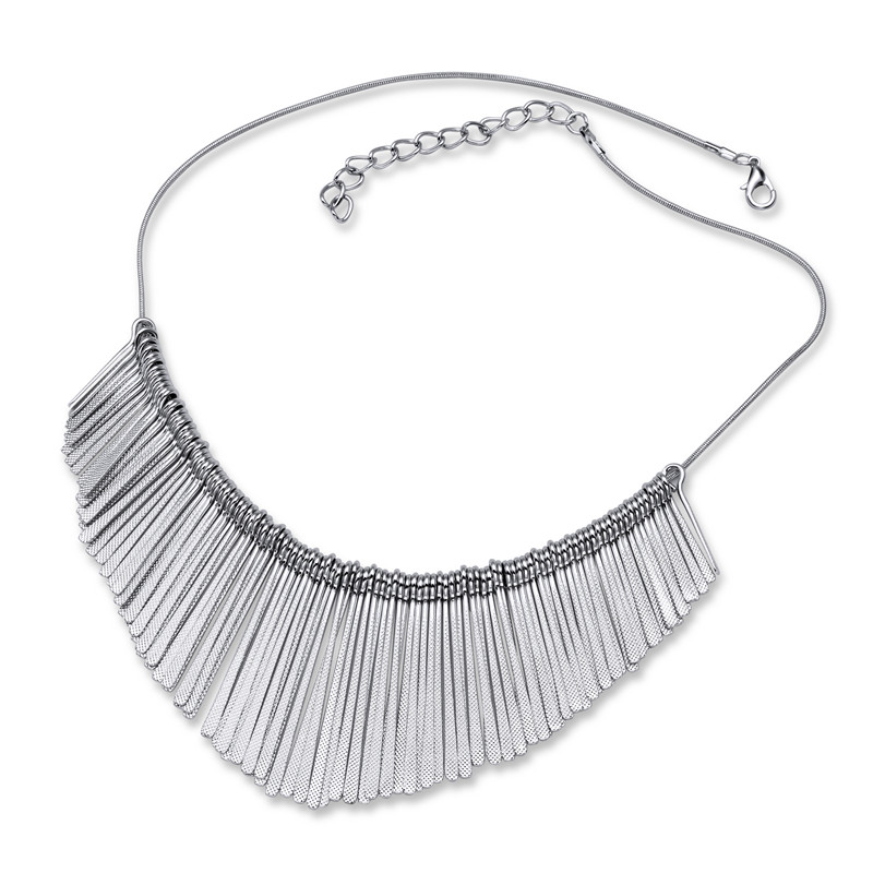 Large Tassel Necklaces Womens Necklace Chain Geometric Wedding Party Engagement Anniversary Jewelry On Neck for Girls Hot Sale