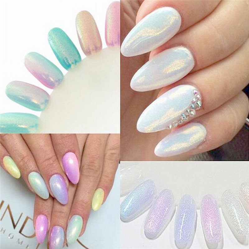 Hot Sale 1pcs Nail Art Fairy Dust Nail Glitters Gold Glitter Powder ...