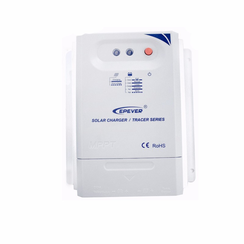 MPPT cargo automático controlador del sistema del panel solar Tracer3210CN 30A 30amp 12 V 24 V tipo de auto marca epever producto - 4