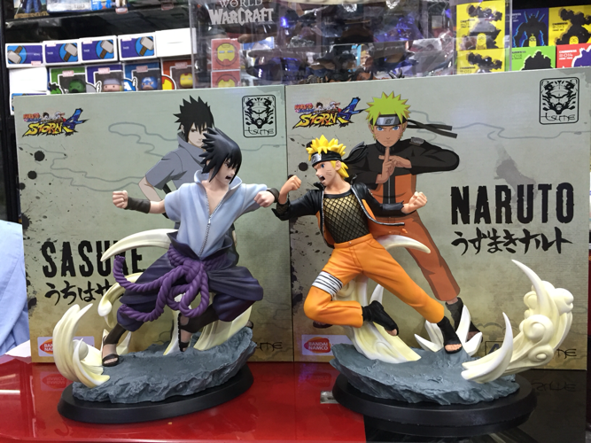 MODEL FANS IN-STOCK the same paragraph Tsume 25cm NARUTO vs Uchiha Sasuke GK PVC made cheap version for Collection model fans in stock the same paragraph tsume 42cm one piece edward newgate gk resin made for collection