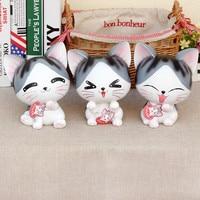 Home DecoratIve Money Box Happy Cat Novelty Large Piggy Bank New Design Saving Pot Coins MoneyBox