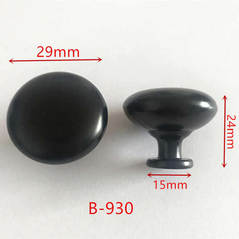 Zinc Alloy Black Cabinet Handles American style Kitchen Cupboard Door Pulls Drawer Knobs Fashion Furniture Handle B-930