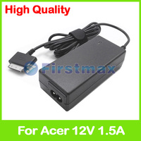 12V 1.5A tablet charger KP.01801.003 NC.20411.01A NP.ADT11.00D NP.ADT11.00J ADP 18TB A for Acer Iconia Tab W510 W511P tablet pc