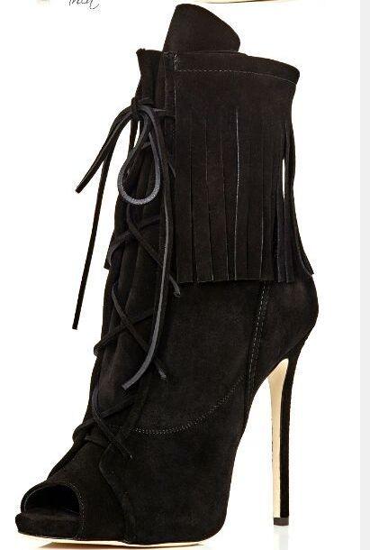 De Lacent Sexy Talons Gland Hauts Unique En Haute Beige Sandales Femmes Cuir Design noir À Ouvert Qualité Daim Bottes Sandale Bout px7q85Z7