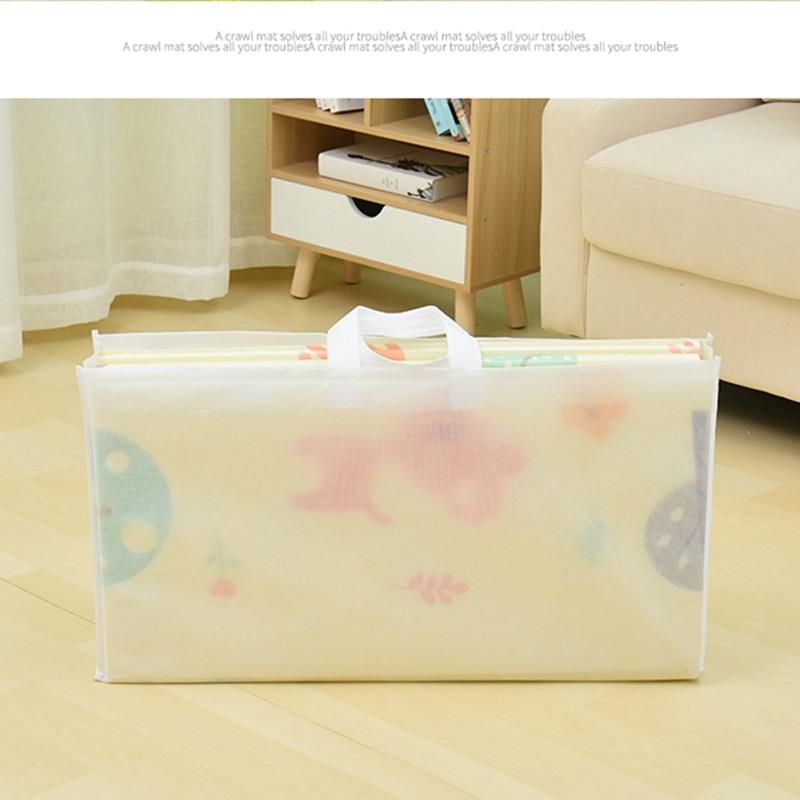 Tapis de jeu brillant pour bébé XPE Puzzle tapis pour enfants épaissi 1.5m * 2m * 1cm tapis rampant pour chambre de bébé tapis pliant pour bébé - 4