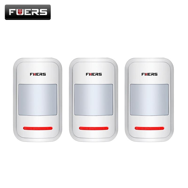 bilder für 3 teile/los 433 Mhz Wireless Intelligente PIR Bewegungsmelder Für GSM Pstn-hauptwarnungssystem ohne antenne Infrarot