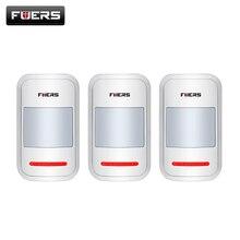 3 шт./лот 433 МГц Wireless Intelligent PIR Motion Детектора Датчика Для GSM PSTN Сигнализация Дома без антенны Инфракрасный
