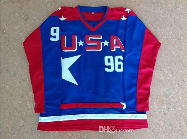 release date: c2896 9dc4c Ice Hockey Jersey Vintage Mighty Ducks Movie Jersey #96 #44 ...
