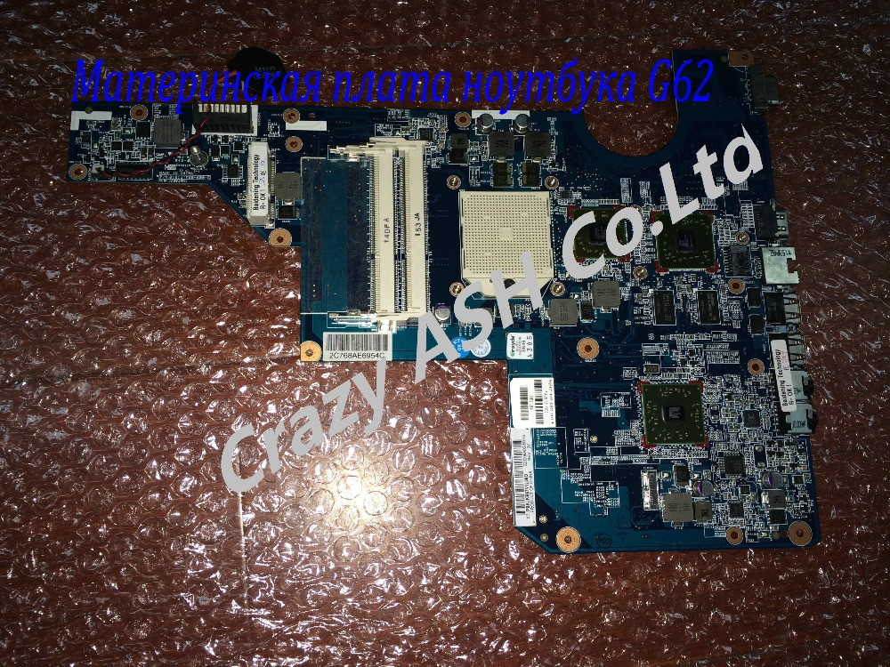 For 597673-001 mainboard for HP G62 laptop motherboard with AMD