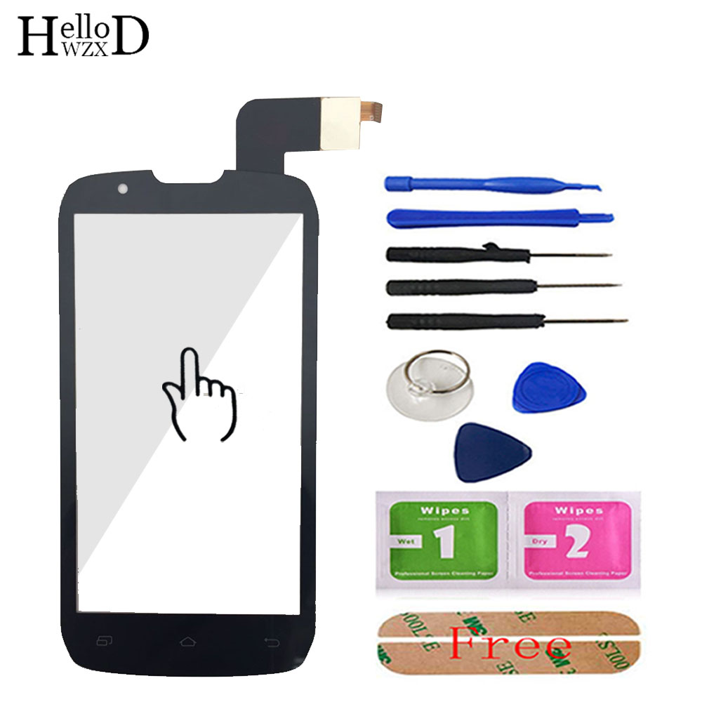 4.3'' Touch Screen For <font><b>DNS</b></font> <font><b>S4502</b></font> 4502 S4502m Smartphone Front Touch Glass Touch Screen Digitizer Panel Lens Sensor Parts Tools image