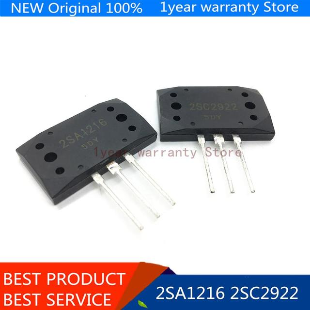 5 par 2SA1216 2SC2922 MT 200 krzemu NPN + PNP wzmacniacz Audio tranzystor