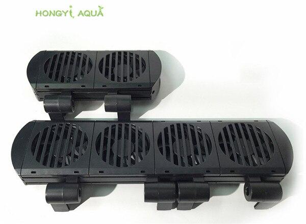 1 piece 3 sizes can choose plastic cooling fan for aquarium strong silent fan for aquatic tank