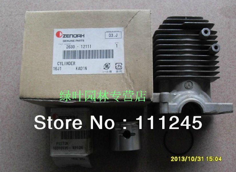 GENUINE CYLINDER KIT FOR ZENOAH G3000 G300T CHAINSAW FREE SHIPPING CHAIN SAW CHEAP ZYLINDER W/ KOLBEN ASSY OEM #2630-12111 genuine piston 36mm for zenoah g3000 g3000t chainsaw free original chain saw cheap kolben parts p n 513 5870 01