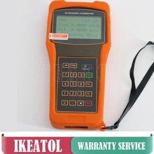 Portable TUF-2000H Ultrasonic Liquid Flow meter ( DN50-300mm)  HM Mounting Bracket Transducer Professional Flowmeters tuf 2000m ultrasonic fuel oil flow meter dn50 1000mm