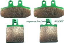 Brake Pad Set For Honda Crm125 Crm 125 ( Italy ) 1990 1991 1992 1993 1994 1999 / Nsr125 Nsr 125 R F 89-92/ Nsr 125 Raiden 90-92(China)