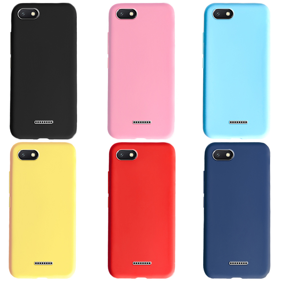 For Xiaomi Redmi 6 A6 Case Silicone Cover Redmi 6a Soft Tpu Case For Phone Capas Redmi6 Xiaomi Redmi 6 Redmi6a Cover Funda Coque