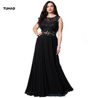 TUHAO Sexy Elegant Black Grey Lace Party Dress Maxi Long Women Solid Sexy Plus Size 5XL 4XL 3XL NIGHTCLUB WOMAN Summer Dress