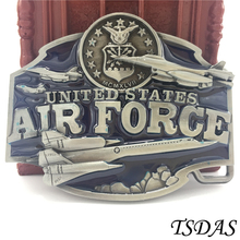 Free Shipping Cowboys Belt Buckle Metal Fashion 3D United States Air Force Luxury Mens Designer Belt