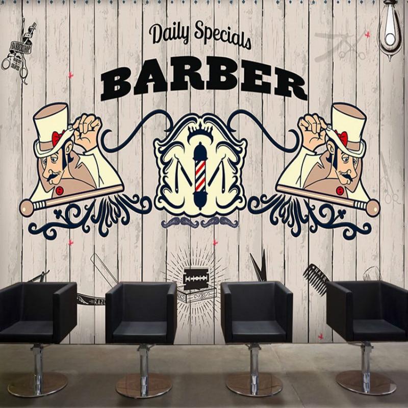 100% Waar Beauty Gepersonaliseerde Custom 3d Behang Patroon Baksteen Muurschilderingen Cafe Gym Lounges Kapper 3d Wallpapers Voor Woonkamer Mooi Van Kleur