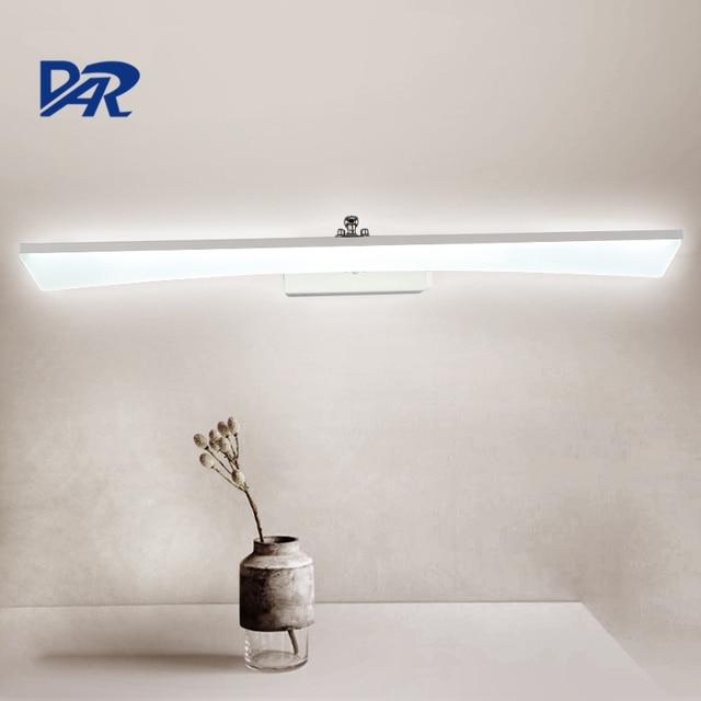 Waterproof Linear Acrylic Bathroom Light 0.4M~1.2M Led Wall Light ...
