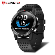LEMFO T1 Smartwatch IP67 impermeable dispositivo portátil de Color de Monitor de pantalla reloj inteligente para Android IOS 30 días de espera(China)