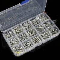 DIY Boxed oval head philips screw nut bolt shim M3 M4 M5 M6 household screws set