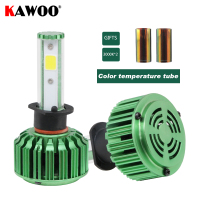 KAWOO H1 Auto Headlamp Front Light Car LED Headlights 6500K Lights Lighting Bulb Automotive External Main