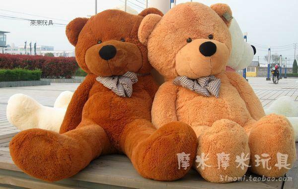 Stuffed animal 100 cm bowtie Teddy bear plush toy bear throw pillow doll w3357