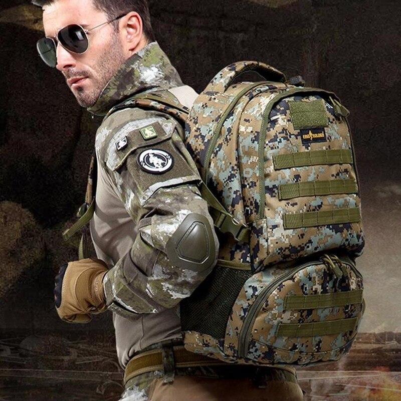 Free soldier deportes al aire libre que va de excursión viaje mochila táctica 10