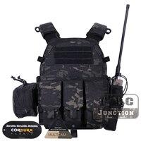 Emerson Тактический модульный Молл LBT 6094A плиты Перевозчик EmersonGear LBT 6094A боевой жилет w/M4 M16 5,56. 223 сумки журнал