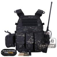 Emerson Tactical Modular MOLLE LBT 6094A Plate Carrier EmersonGear LBT 6094A Combat Vest w/ M4 M16 5.56 .223 Magazine Pouches
