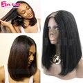 Para As Mulheres Negras U Parte Peruca 7A Em Estoque Yaki Em Linha Reta U parte Perucas de Cabelo Humano Não Processado Virgem Do Cabelo Humano U Parte Peruca Humana cabelo