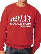 Evolution Of Golf Golfer Sport Sweatshirt Jumper Unisex Birthday Gift More Size and Color-E221