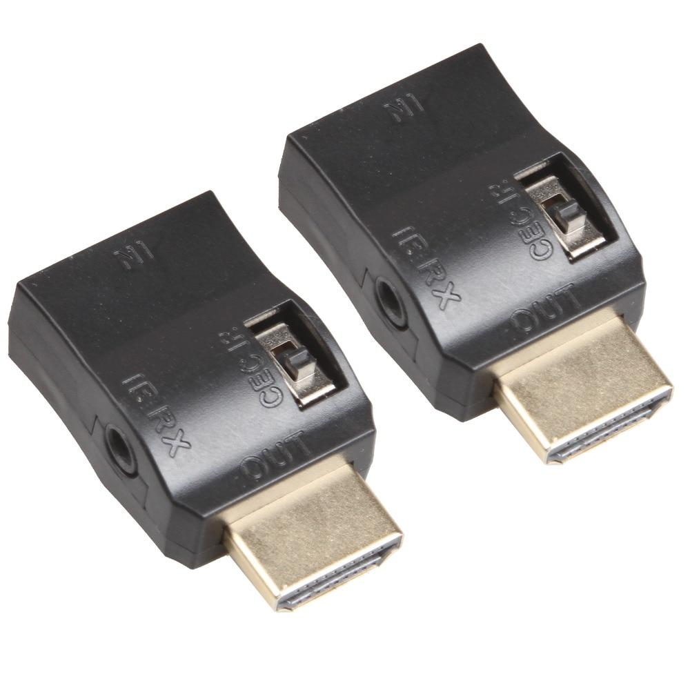 Relper Lineso HDMI Dual Band IR Afstandsbediening Over HDMI Kabel ...