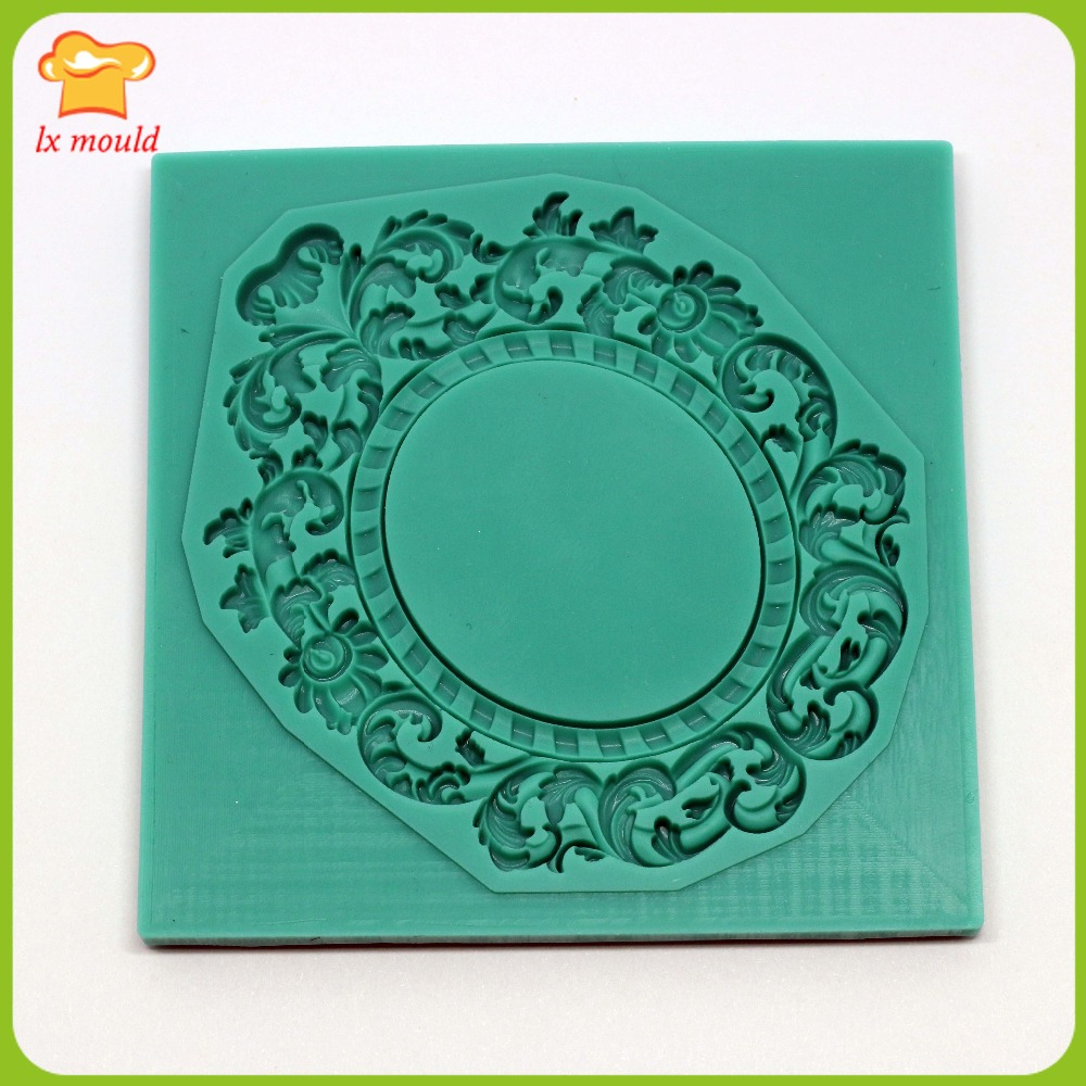 Lxyy Mould Fondant Cake Silicone Mold Dry Pace Shape Mold