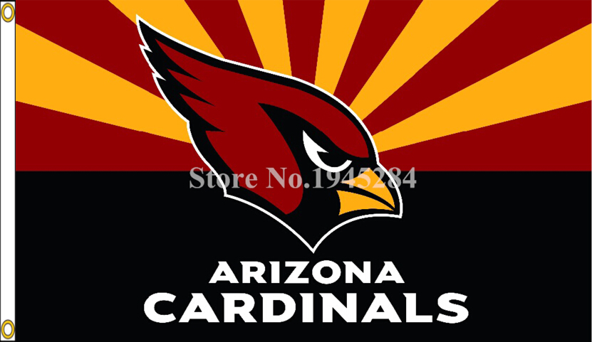 NFL Arizona Cardinals Flag Size 3x5ft 90X150cm Large Polyester Flying Flag Banner, free shipping