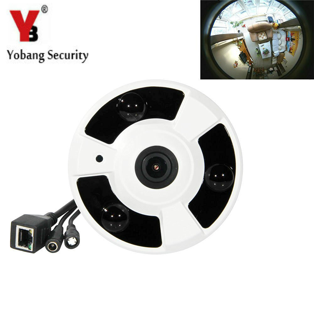 YobangSecurity 360 Degree WiFi Wireless IP Camera Mini Baby Pet Monitor Home Security Camera Surveillance Webcam For IOS Android
