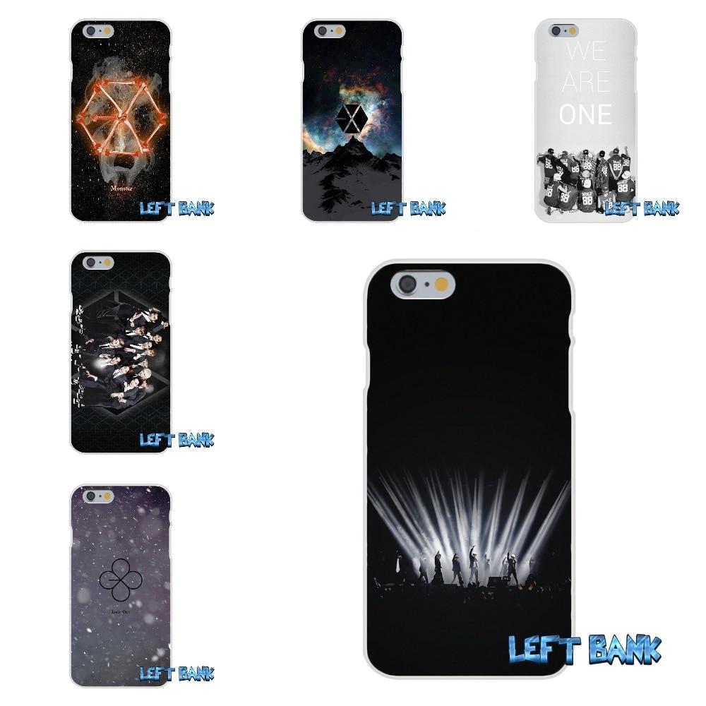 Поп группа <font><b>EXO</b></font> кремния мягкий чехол для телефона для Samsung Galaxy A3 A5 A7 J1 J2 J3 J5 J7 2015 2016 2017
