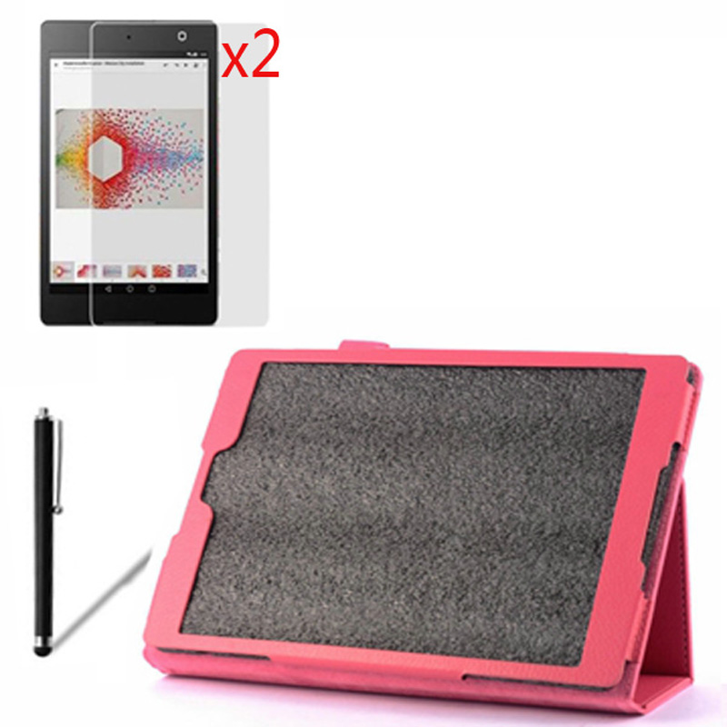 4in1 Luxury Magnetic Folio Stand Leather Case Cover +2x Screen Protector +1x Stylus For Google Nexus 9 Nexus9 8.9 Tablet cover case for kobo aura one 7 8 inch ebook reader magnetic pu leather case screen protector film stylus pen