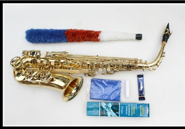 Cheap Japan Yanagisawa Professional Saxophone Alto Eb Sax Electrophoresis Gold Brass Instruments Music Saxofone Alto Sax