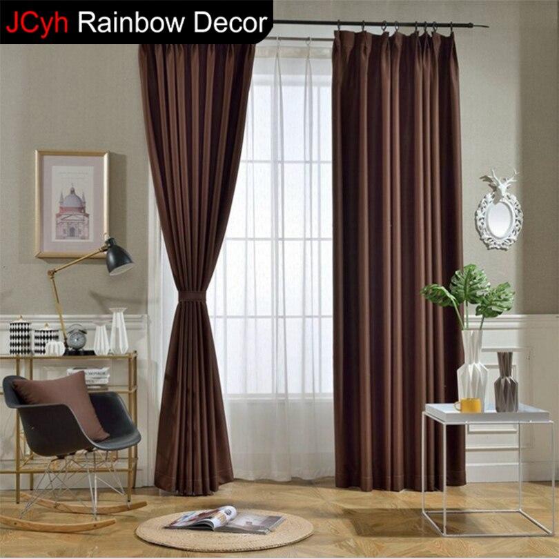 JRD moderne blackout vorhänge für wohnzimmer vorhang fenster stoff ...